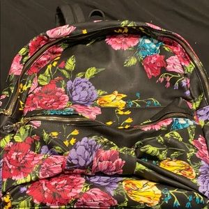 Multi-colored Floral Betsey Johnson Backpack